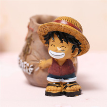 Christmas Shopping Table Decor Anime One Piece Pen Pencil Holder