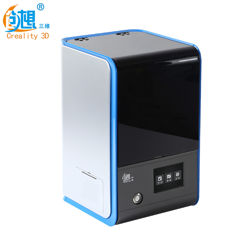 Cheapest Creality 3D LD-001 LCD Screen Light Curing 3D Printer Using 3D Creator Slicer With 3.5 inch Full Color Touch Screen цена