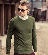 New Arrival Men's Sweater Pullover Long Sleeve Knitted Pullovers And Casual Sweaters For Men Warm comfortable-Free Shipping