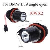 أفضل الأسعار لسيارات bmw e39 e60 m5 x5 e53 e63 5-Series e65 10Wx2 X32Pcs 12 فولت أدى زاوية العين هالو الدائري ضوء لمبة