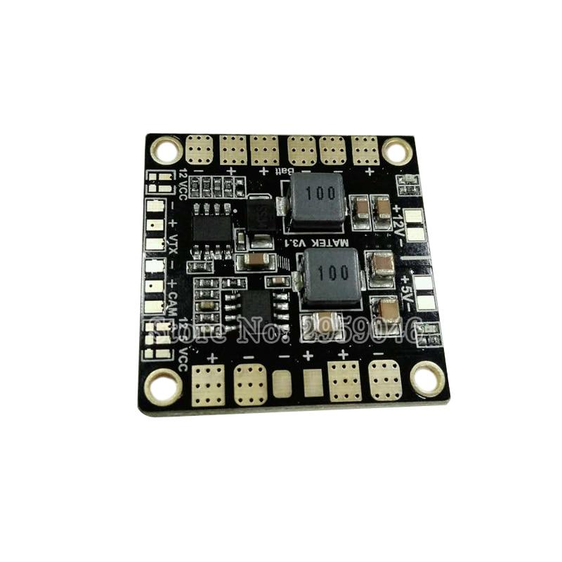 Mini Power Hub BEC 5V 12V V3 Distribution Board PDB 4 ESC för FPV QAV250 ZMR250 Multicopter Quadcopter VTX PCB LiPo-kit