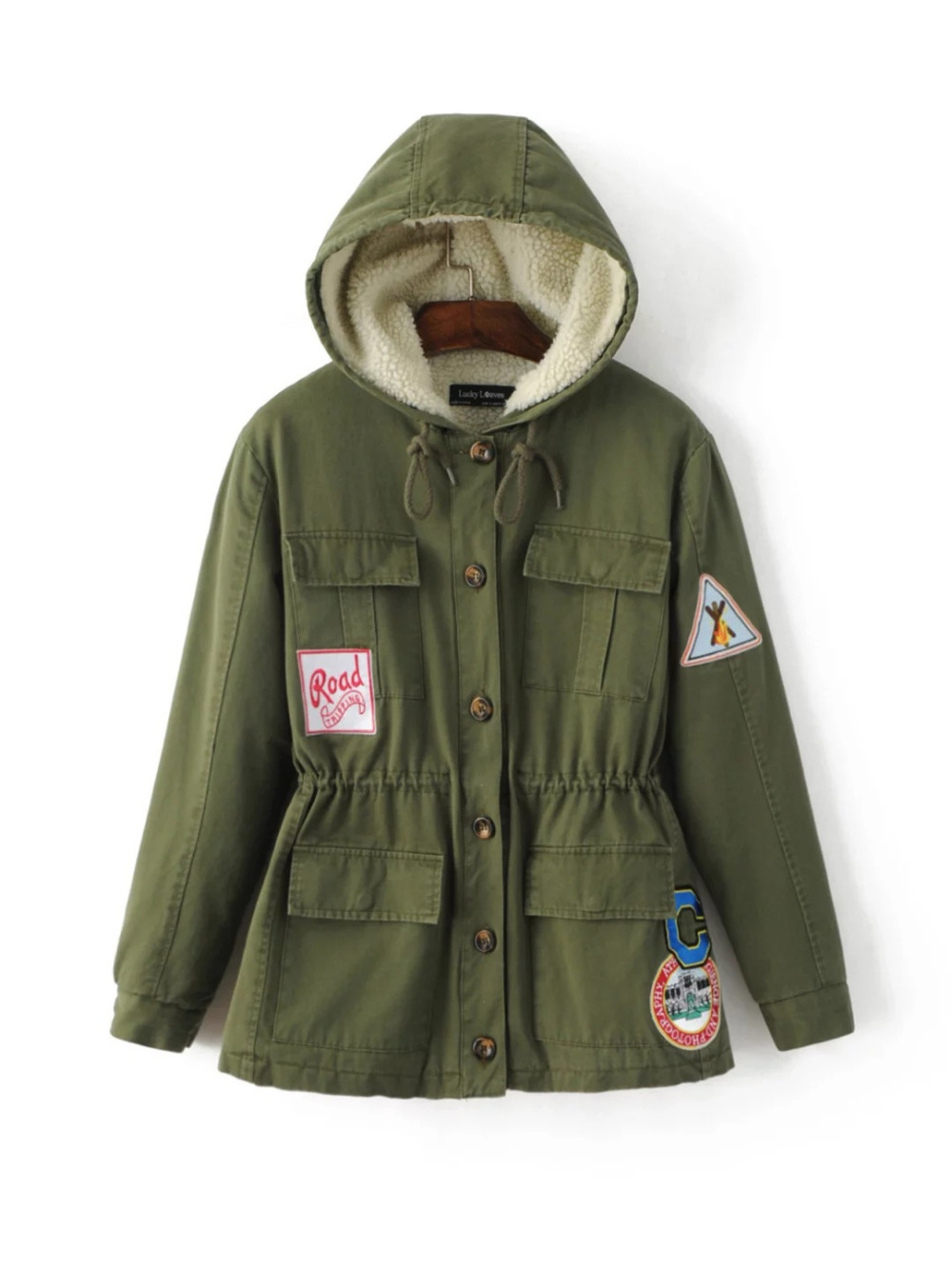 new winter women jacket medium-long thicken outwear hooded wadded coat slim parka cotton-padded jacket army green overcoat winter cotton outerwear women super fur hooded wadded jacket female medium long padded coat thicken slim parka plus size