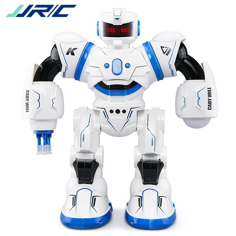 Фотография JJR/C JJRC R3 CADY WILL Sensor Control Intelligent Combat Dancing Gesture RC Robot Toys for Kids Christmas Gift Present VS R1 R2