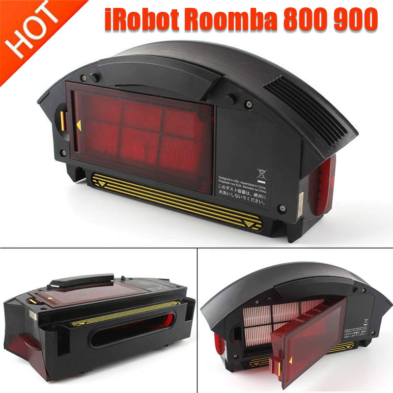 High Quality 1pcs Dust Collecting BOX Filter Bin Collecter For IRobot Roomba 800 900 Series870 871 860 861 880 885 960 964