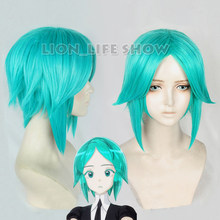 Land of the Lustrous Houseki no Kuni Phosphophyllite verde Anti-Alice Cabelo Cosplay wig cap livre(China)