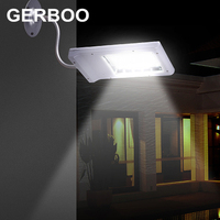 15 LED Solar Sensor Lighting Solar Lamp Powered Panel LED Street Light Outdoor Path Wall Emergency Lamp Security Spot Light