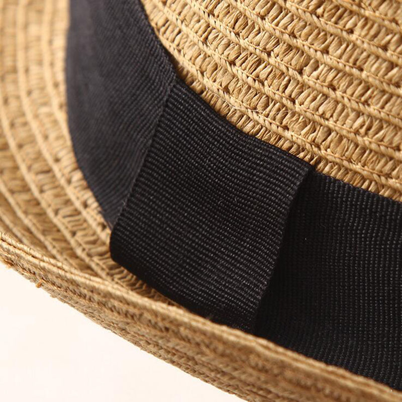 5ea9ebc58dd50 Fashion men fedora straw hats for women man holiday beach summer sun hat  unisex linen trilby Caps Sombreros Hombre Verano cool-in Sun Hats from  Apparel ...