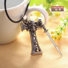 Warrior Sword Skull Cross