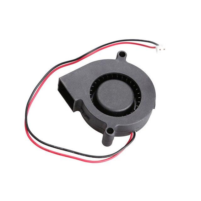 New 5015S 5V 0.1-0.3A Black Brushless DC Cooling Blower Fan 50x15mm EM88