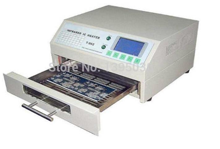 1PC T-962 Infrared IC Heater SMD BGA Reflow Oven Equipment 180m T962   Rework Preheating Station pre heater preheating station bga reballing oven solder ball welding machine