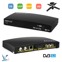 DVB-S2 D4S PRO Satellite Receiver Receptor HD FTA Satellite TV Receiver D4S Decoder Support 3G WIFI PowerVu Biss Key YouTube