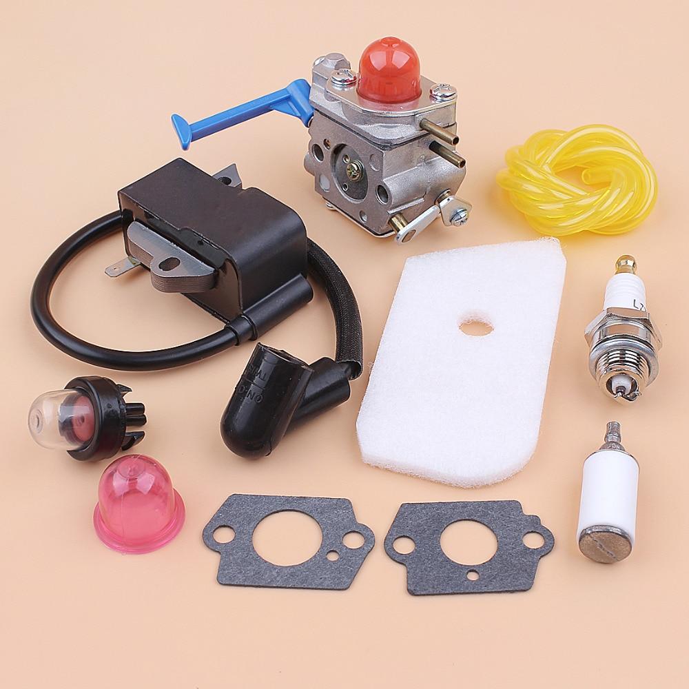 Tools : Carburetor Ignition Coil Kit for HUSQVARNA 125C 125E 125L 128C 128LD 128R Brushcutters Trimmer Spares Zama C1Q-W31B C1Q-W40A
