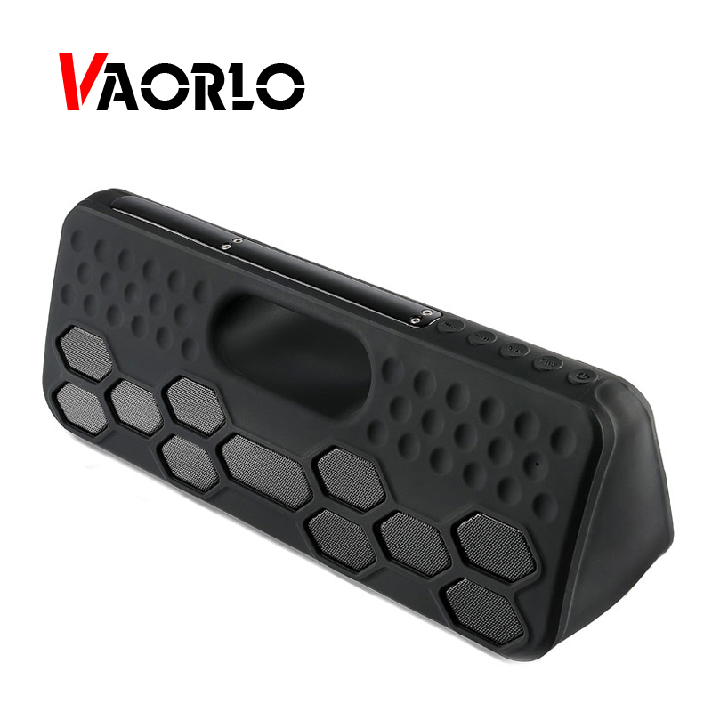 VAORLO Outdoor TWS Bluetooth Speaker 40W Wireless Built in battery Portable Waterproof IPX55 Loud Speakers Hands Free for IPHONE i fun8 bluetooth speaker built in mic hands free call portable sound perfect speakers with tws wireless earbuds for smart phone