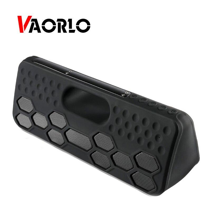 VAORLO extérieur TWS Bluetooth haut-parleur 40 W sans fil intégré batterie Portable étanche IPX55 haut-parleurs mains libres pour IPHONE