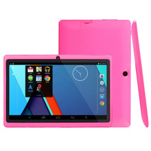 7 inch Quad core Q88 1.5GHz android 4.4 tablet pc Q88 allwinner A33 512MB+ 8GB Capacitive Screen 1024×600 Dual camera WIFI