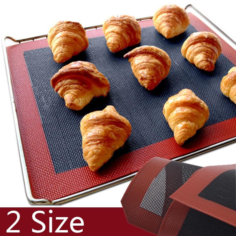 Silikonmatte Für Ofen Backformen Perforierte auflaufform Silikon formen Mat Blatt Antihaft-mat-Perforation Brot Keks werkzeuge