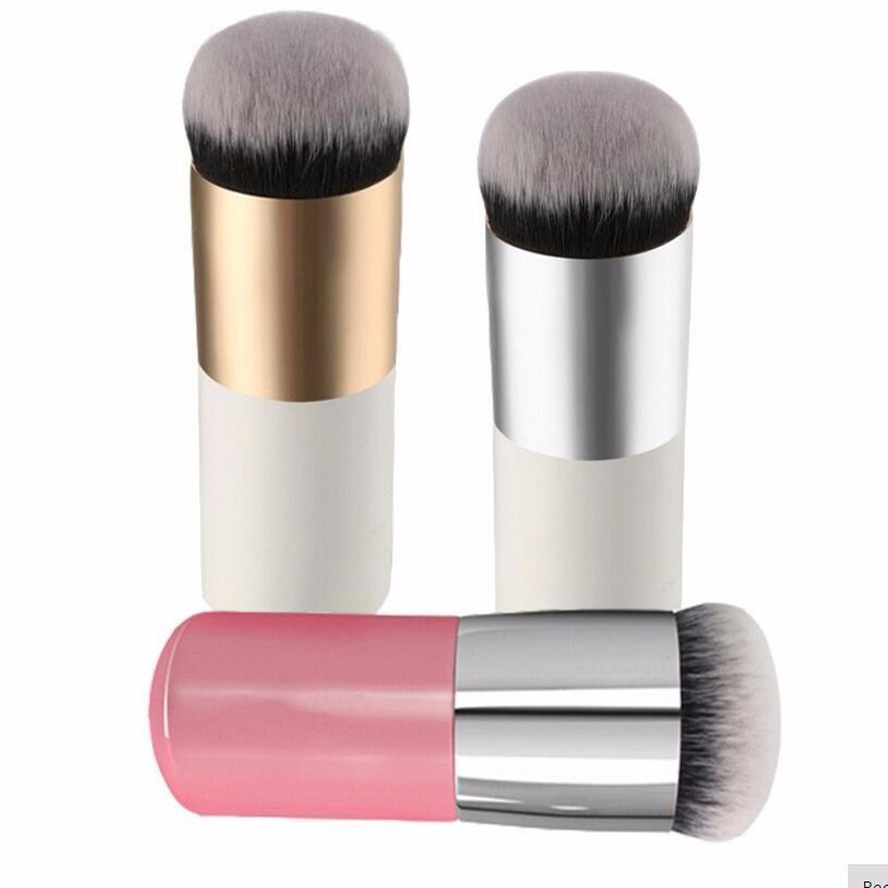 Round Makeup Brush BB Cream Concealer Foundation Powder Brushes Synthetic Fifber Face Cosmetic Blush Brush Make Up Beauty Tool