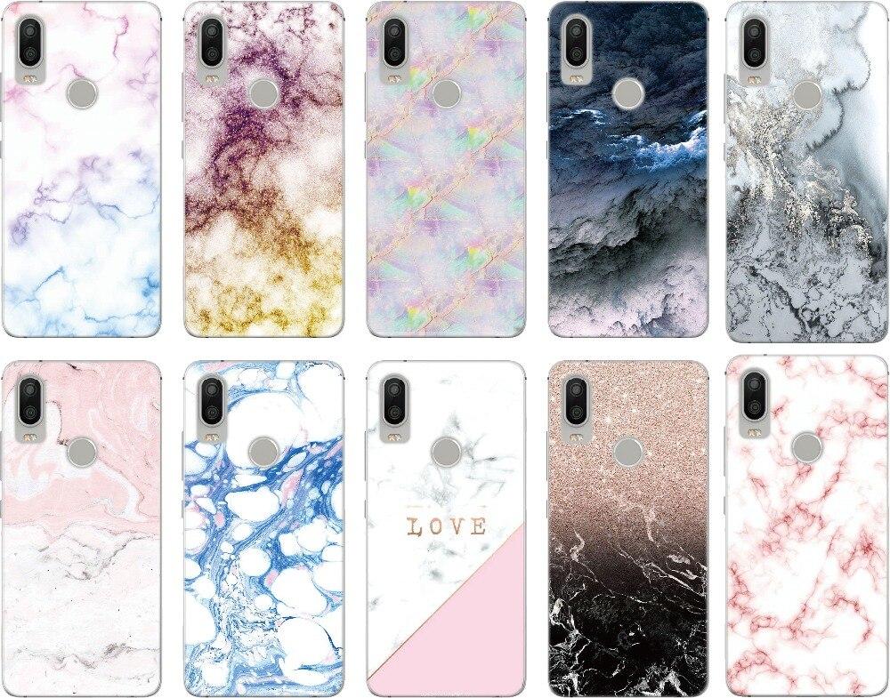New Arrival Print Colorful Marble Phone Case For BQ Aquaris M5 E5 E6 M5.5 X5 Plus Fundas For Blackberry Z10 Z30 Q10 Cover Capa(China)