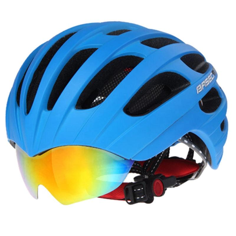 Basecamp Summer MTB Road Cycling Helmet Glasses Cover Bike Helmet 32 Vents Bicycle Helmets Goggles 3 Lens inbike 2017 cycling glasses gafas ciclism nxt lens uv400 proof bike eyewear goggles mtb road bicycle photochromic sunglasses