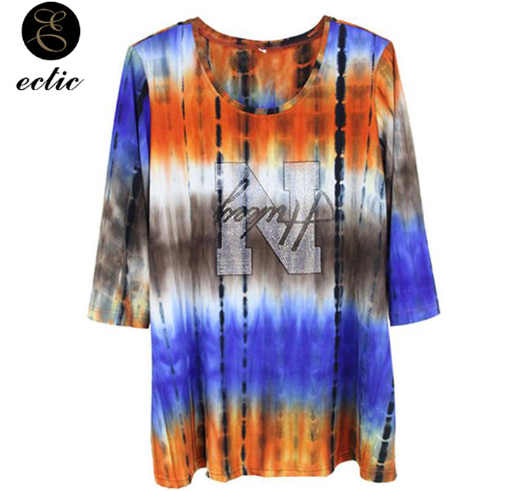 dba3fa9889a70 The plus size harajuku t shirt is designed by fashion designers for women  in 2019 summer. The streetwear tops can make you look vogue.