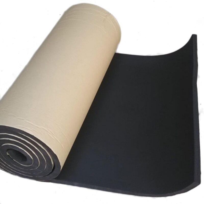 200X50 cm 36 sqft Auto Auto Sound Trittschalldämmung Baumwolle Wärmedämmung Pad Schaum Material Autos Interior Zubehör Neue