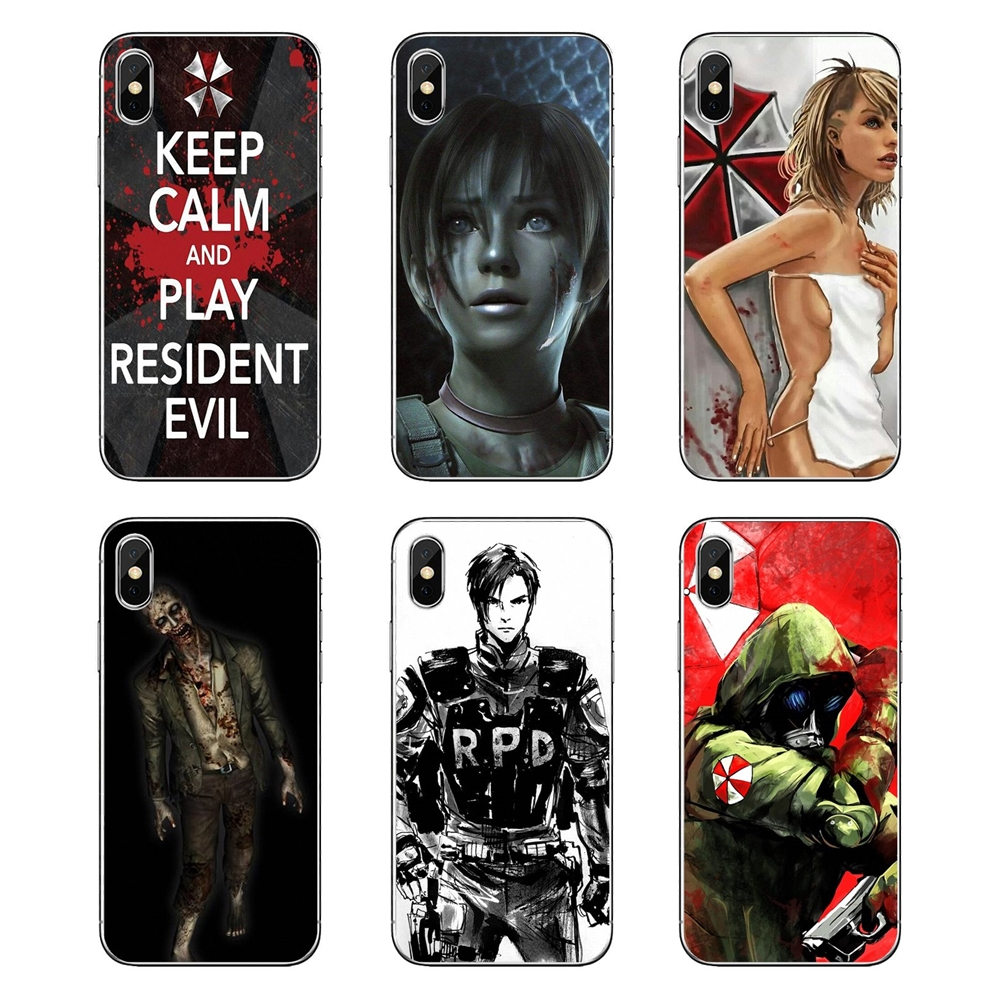 Beautiful Soft Transparent Shell Covers For Lg G7 Q6 Q7 Q8 Q9 V30 X Power 2 3 For Oneplus 3t 5t 6t Resident Evil Umbrella Corporation Clearance Price Phone Bags & Cases