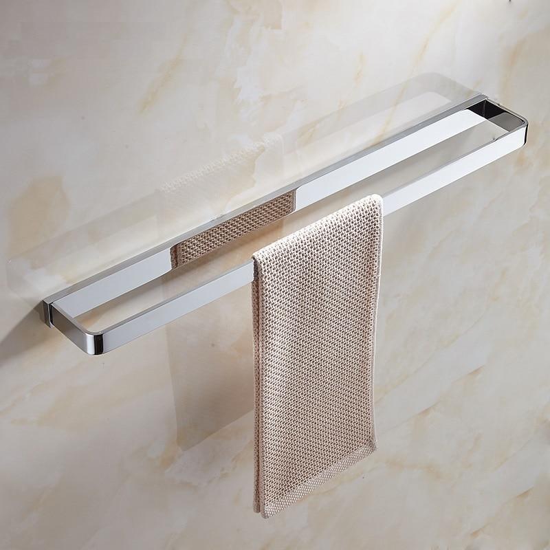 Laiton massif or brossé carré porte-serviettes anneau de serviette salle de bain Chrome porte-serviettes porte-serviettes accessoires de salle de bain