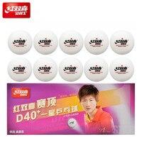 DHS мячи для настольного тенниса экологически чистых материалов 1 star d40 + теннисные мячи для настольного тенниса ABS 1-звезда 40 + пластиковые шар...