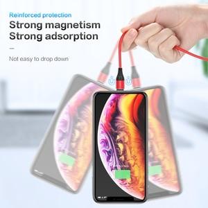 Image 5 - Магнитный зарядный usb кабель FLOVEME, Micro Usb Type C, Магнитный провод для быстрой зарядки, 3 А, для iphone, Samsung, Redmi Note 7, 8, Microusb