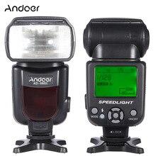 Andoer AD 960II lampa błyskowa Speedlite latarka GN54 uniwersalny wyświetlacz LCD lampa błyskowa do aparatów Nikon Canon Pentax DSLR