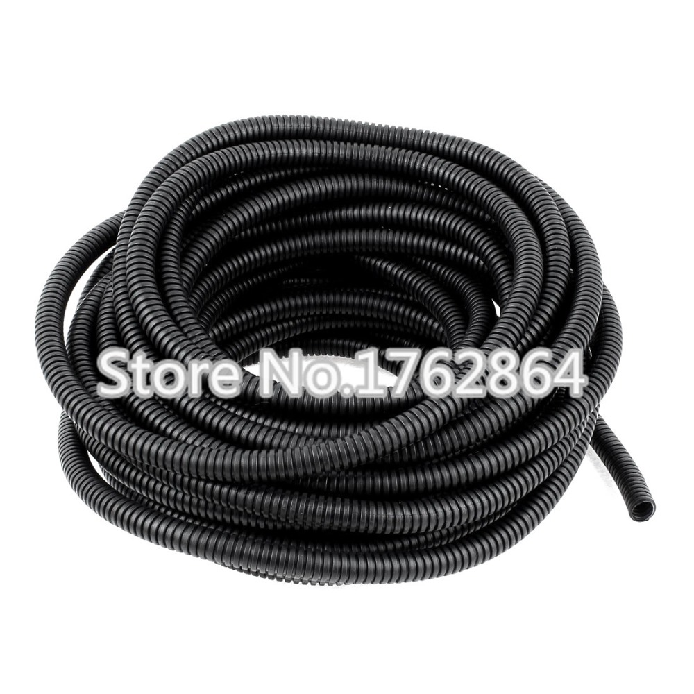 2m/Lot  Plastic Corrugated Pipe AD34.5 Fiber optic cable to protect the Corrugated hose cable sheathing Sleeve