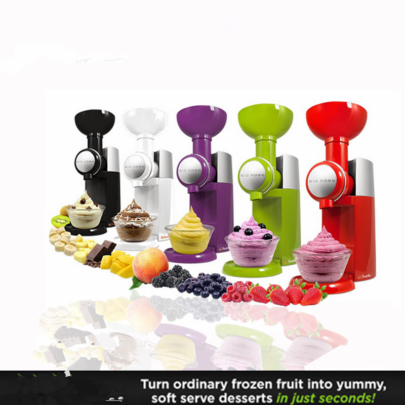 Fruit Ice Cream Machine Automatic Frozen Fruit Ice Cream Machine Dessert Milkshake Maker