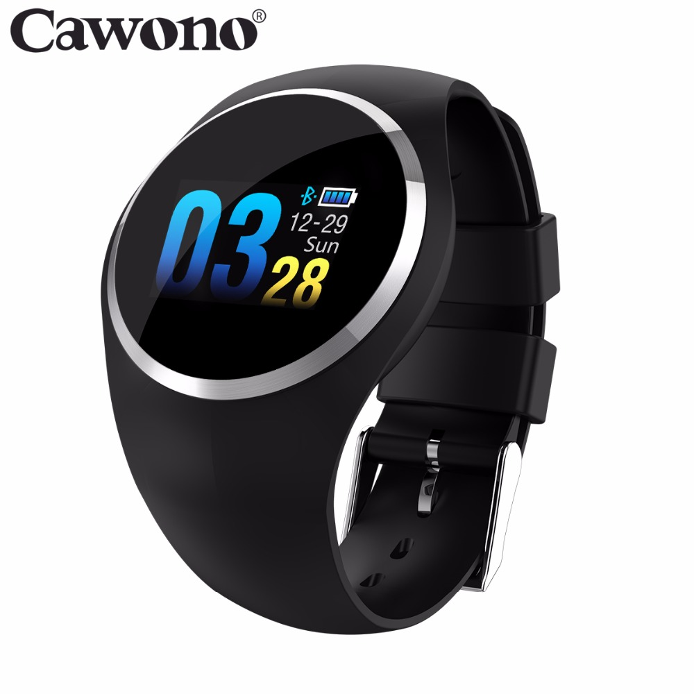 Cawono CW10 Smart Bracelet Heart Rate Fitness Tracker Smart Wristband Blood Pressure/Oxygen Men Women Watch for IOS Android