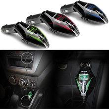 Manos Libres inalámbrico Bluetooth Car Kit Reproductor de MP3 FM Del Modulador Del Transmisor SD LCD USB Reproductor de Música Del Coche DXY