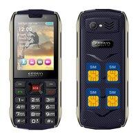 SERVO H8 Mobile Phone 2 8 Inch Quad SIM 4 SIM Card 4 Standby Power Bank