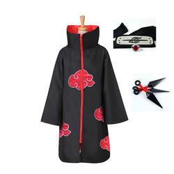 Классический Аниме Наруто косплей костюм Акацуки Учиха Итачи шурикен лоб оголовье аксессуары костюмы Косплей Аксессуары
