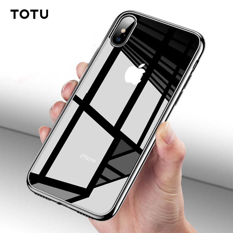 TOTU Phone Case For iPhone Xs Max XR Ultra Clear Transparent Protective Back Cover For iPhone Xr XS Max Coque Fundas iPhone XR