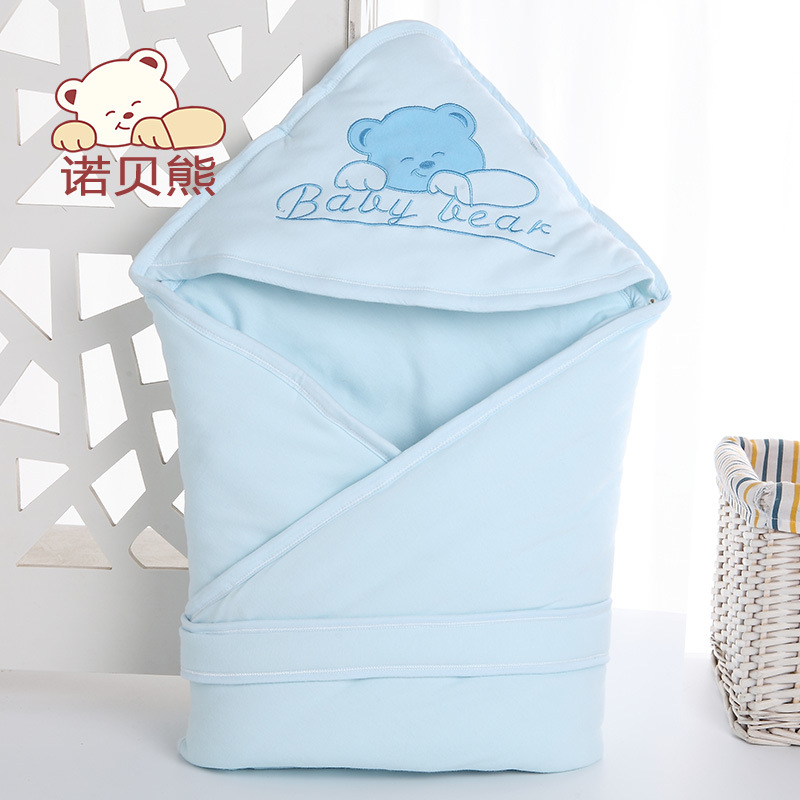 2018 New Arrival Cute Bear 3 Colors Cotton 90cm*90cm Winter Fall 0-12 Months NewBorn Baby Warm Blanket For Kids Shipping Free aibeile 2017 new 3 colors bear elephant flannel baby blanket newborn soft cartoon blankets 100 100cm for beds thick warm kids