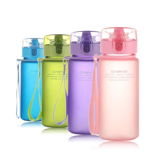 CURGE Flip Top Lid Direct Drinking Plastic water bottle 400ml 560ml #1107 1