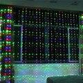 6x3 м водонепроницаемый светодиодный Водопад сосулька занавеска гирлянда для вечеринки праздник Рождество свет для свадьбы украшения сада