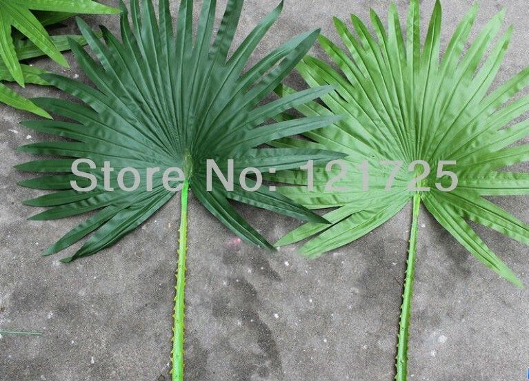 Искусственный пальмовых листьев, украшение дома, искусственные цветы шелк, искусственные растения