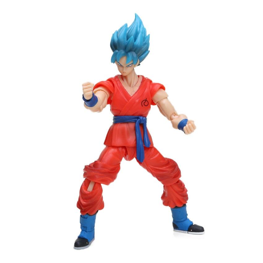 Dragon Ball Z Action Figure Gohan Goku Vegetto Vegeta Trunks Piccolo Freeza 18 with rotating joints 14
