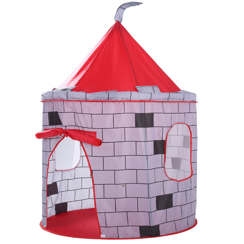 YARD Foldable Baby Play Tent Outdoor Indoor Sport Castle Tent Kids for Children Kids Playhouse Plastic Tent for Kids Toys Room plastic slide for kids foldable children indoor sliding