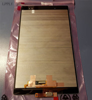 LPPLY LCD Assembly BLACK For Sony Xperia Tablet Z3 SGP611 SGP612 SGP621 Lcd Digitizer Touch Screen Replacement Free Shipping