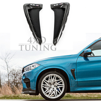 For BMW X5M F85 X6M F86 Carbon Fender Cover Trim Carbon Fiber Fender Light Trim 1