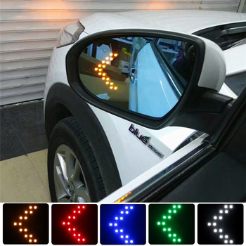 Car Styling 14 SMD LED Turn Signal Light For GMC Sierra 1500 2500 3500 C3 Yukon Acadia Canyon Savana Car Rear View Mirror Lights image