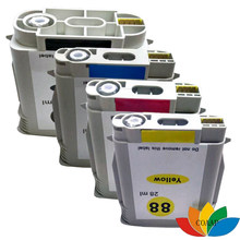 Cartouche d'encre 4pk pour HP 88XL, C9391AE, C9392AE, C9393AE, C9396AE, HP88 XL, Compatible