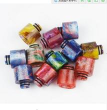 5 pieces / lot  510 Resin Drip Tips E-Cigarettes Mouthpiece colorful for RTA RDA Electronic Cigarette Vape