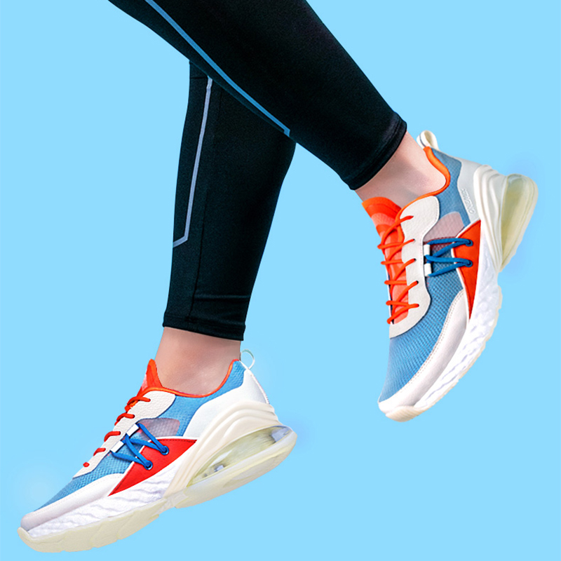 ONEMIX Fashion Men Air Cushion Casual Shoes Breathable Textile Upper Summer Sneakers Lightweight Outdoor Sport Trainers in Men 39 s Casual Shoes from Shoes
