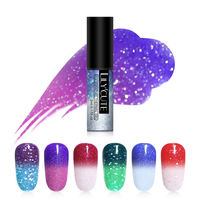 LILYCUTE 5ml Holographic Thermal Gel